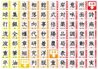 3年生の漢字表ポスター ぷりんときっず