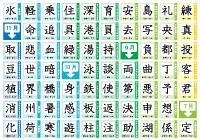 年生の漢字表ポスター ... : 小学6年生 国語 : 国語