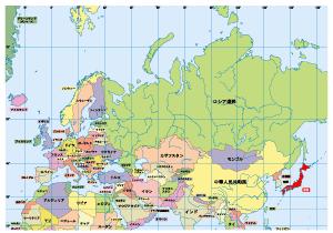 世界地図 ぷりんときっず