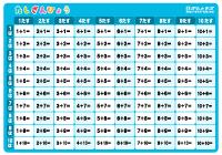 足し算表(計算表 ... : たし算 : すべての講義