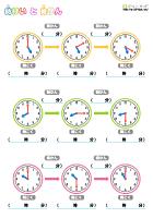 算数プリント小学2年生 ... : 時間の足し算 : すべての講義